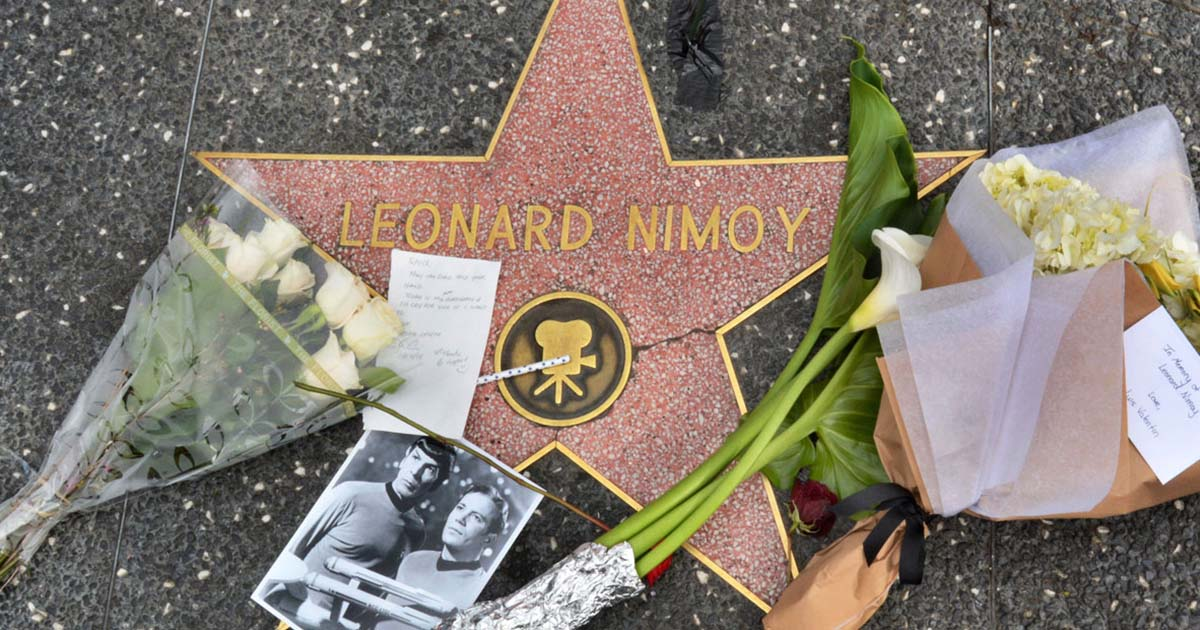 Leonard Nimoy's Hollywood star