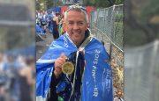 Russell Winwood NY Marathon