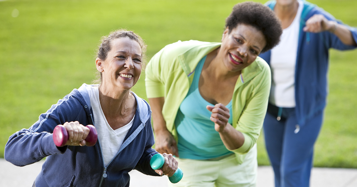 Exercising for COPD